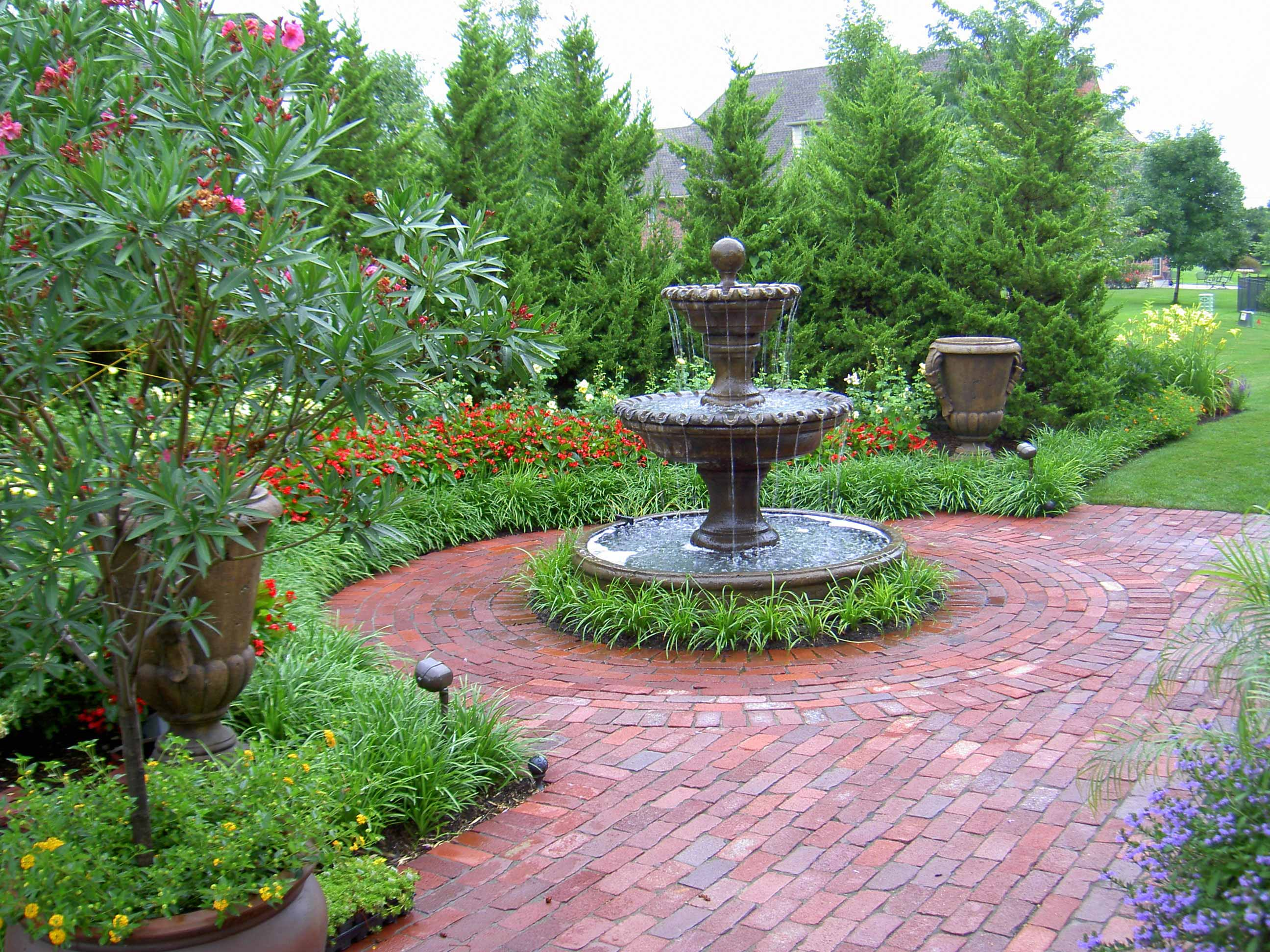 Beautiful Kansas City Garden Fountain